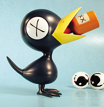 Drinky Crow Vinyl Figure