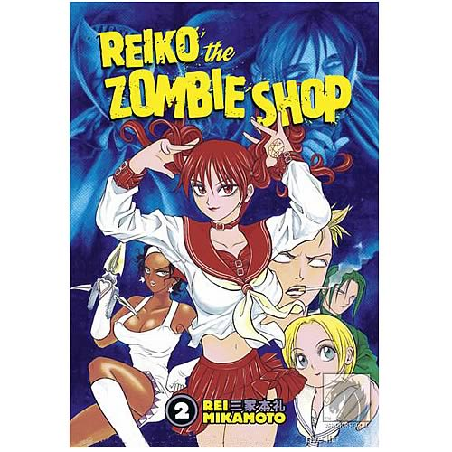 Reiko the Zombie Shop Volume 2 Graphic Novel