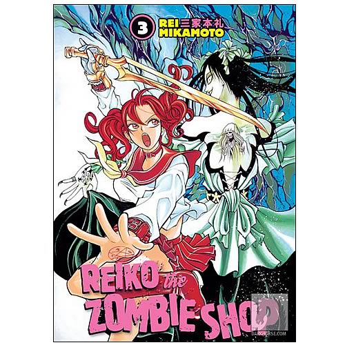 Reiko the Zombie Shop Volume 3 Graphic Novel