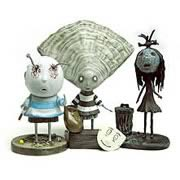 Tim Burton Tragic Toys Oyster Boy PVC Set