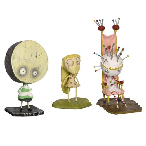 Tim Burton Brie Boy PVC Set
