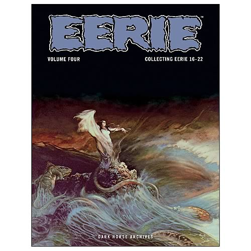 Eerie Archives Volume 4 Hardcover Graphic Novel