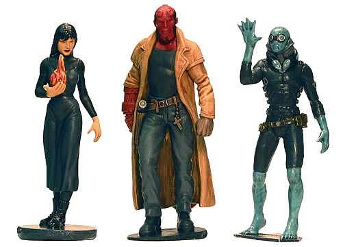 Hellboy Good Guys PVC set