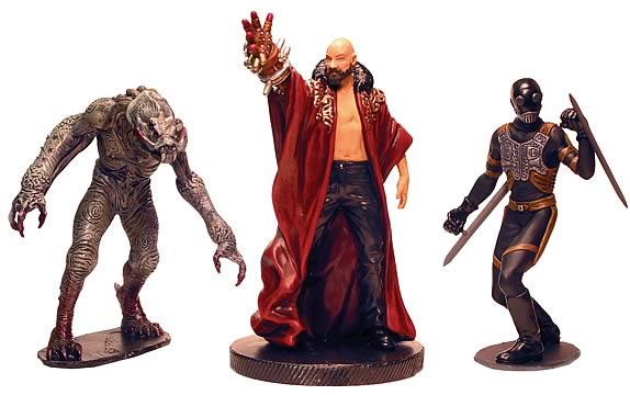 Hellboy Bad Guys PVC set