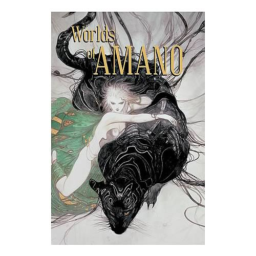 Worlds of Amano Art Book