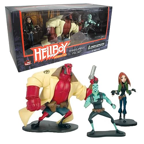 Hellboy Animated PVC Figure Set