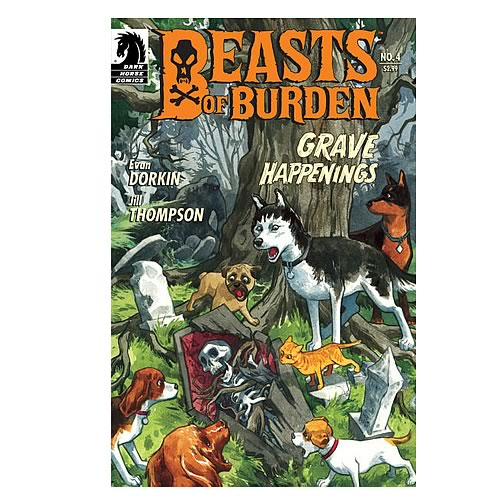 Beasts of Burden #4 Comic Book