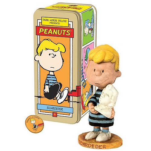 Classic Peanuts Schroeder Character Figure
