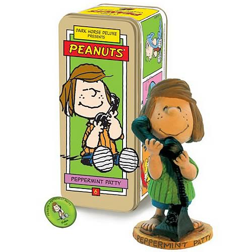 Classic Peanuts Peppermint Patty Character Figure