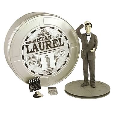 Movie Icons Stan Laurel Action Figure