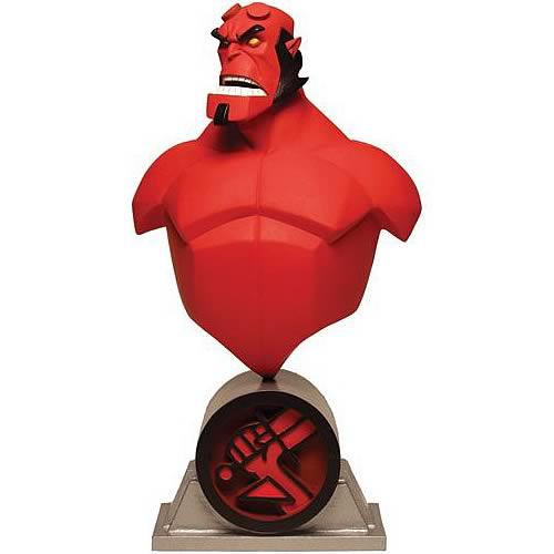 Hellboy Animated Hellboy Mini Bust