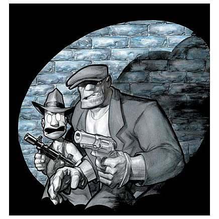 Dwight T. Albatross's The Goon Noir #1 Comic Book