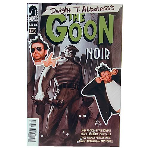 Dwight T. Albatross's The Goon Noir #2 Comic Book