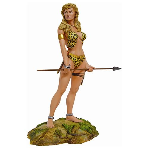 Sheena Queen of The Jungle Statue