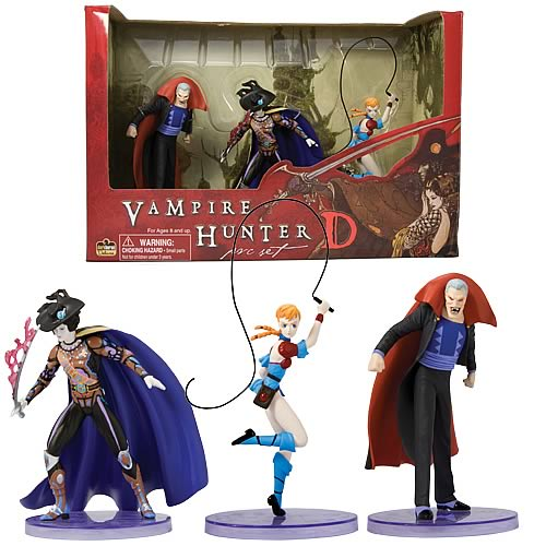 Vampire Hunter D PVC Figures