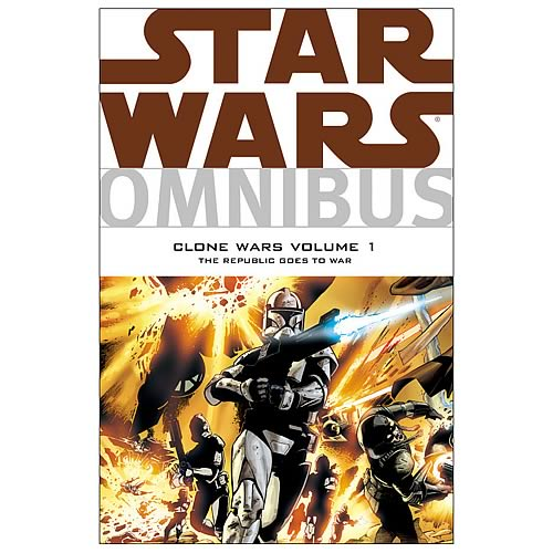 Star Wars Omnibus: The Clone Wars Vol. 1 Graphic Novel