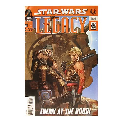 Star Wars: Legacy #24 Comic Book