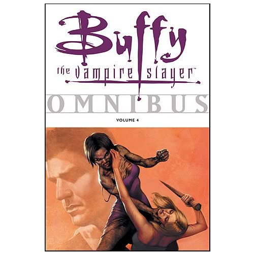 Buffy the Vampire Slayer Omnibus Volume 4 Graphic Novel