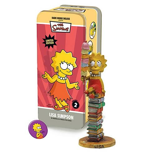Simpsons Classic Lisa Simpson Character Figure