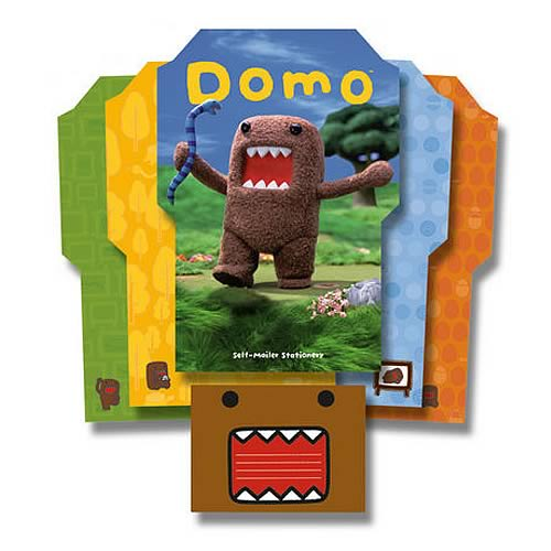 Domo Self-Mailer Stationery Set