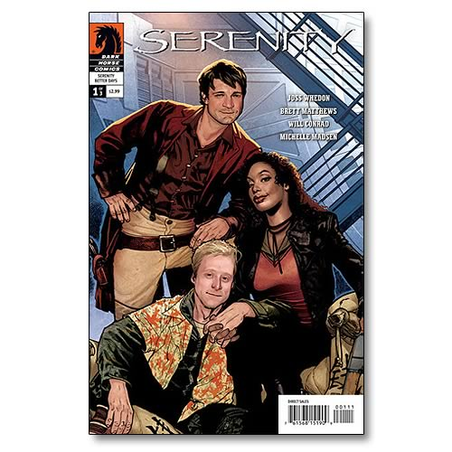 Serenity Better Days #1 Comic Book