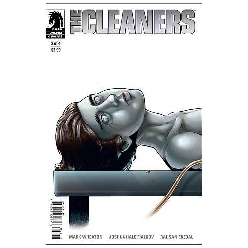 The Cleaners #2 Comic Book