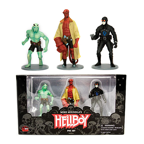 Hellboy PVC Figure Set