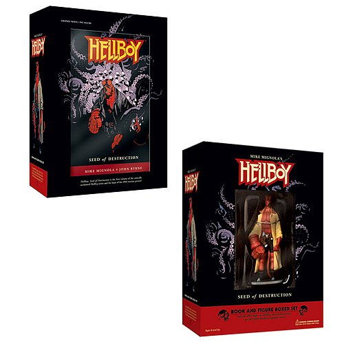 Hellboy Book and Figure Set