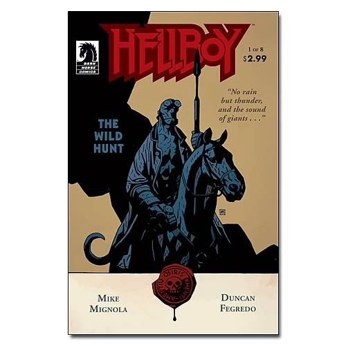Hellboy The Wild Hunt #1 Comic Book