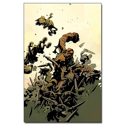Hellboy The Wild Hunt #4 Comic Book