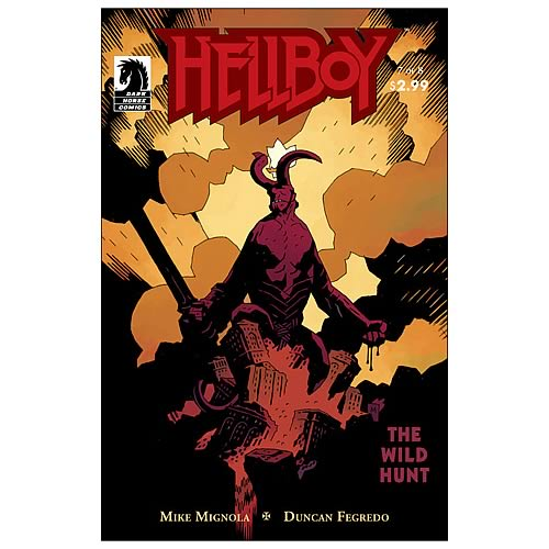 Hellboy The Wild Hunt #7 Comic Book