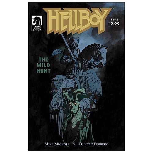 Hellboy: The Wild Hunt #8 Comic Book