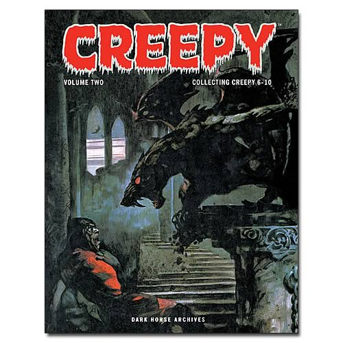 Creepy Archives Volume 2 Hardcover Graphic Novel