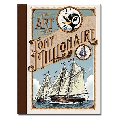 The Art of Tony Millionaire Hardcover Book