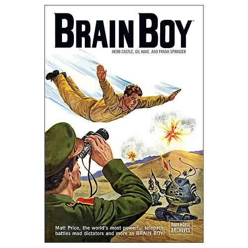 Brain Boy Archives Graphic Novel