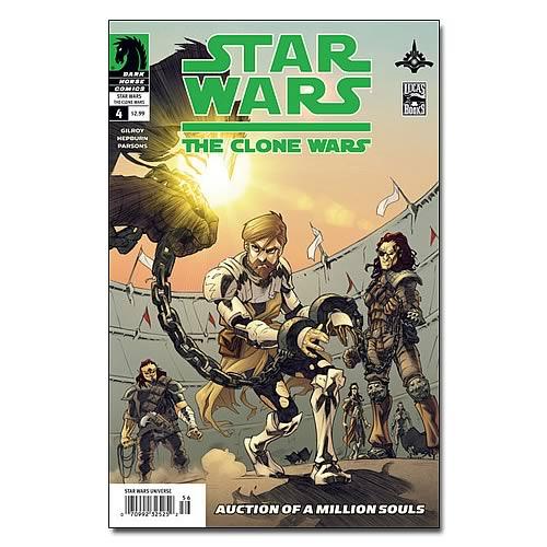 Star Wars Clone Wars Comic Books Star Wars The Clone Wars 4