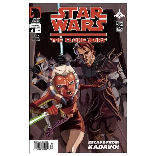 Star Wars Clone Wars Comic Books Star Wars The Clone Wars 6