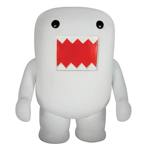 Domo Earl Polar White Flocked 5 1/2-Inch Vinyl Figure