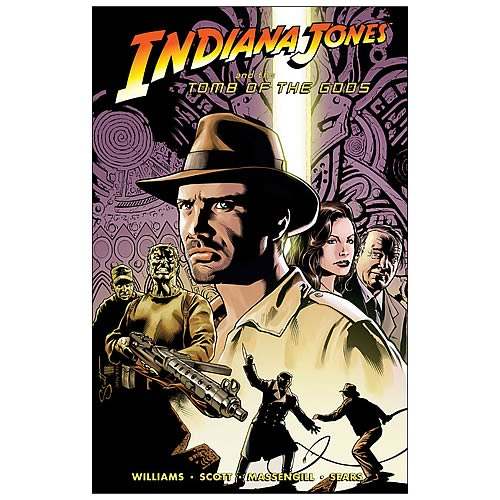Indiana Jones and the Tomb of The Gods Graphic Novel