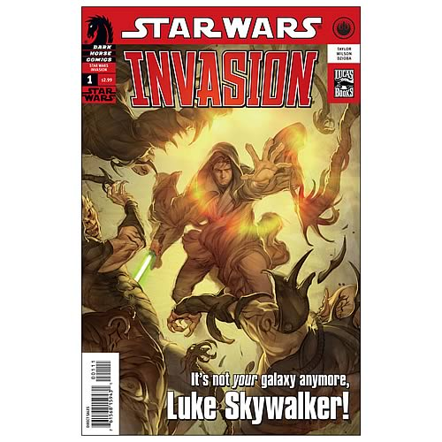 Star Wars: Invasion #1 Comic Book