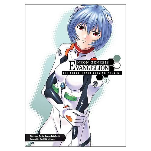Neon Genesis Evangelion Shinji Ikari Raising Project Vol 3
