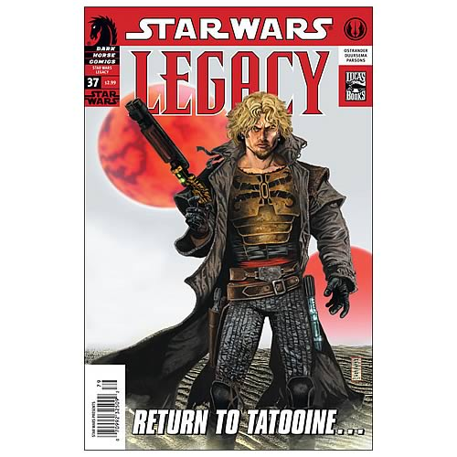 Star Wars: Legacy #37 Comic Book