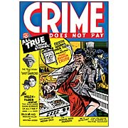 Crime Does Not Pay Archives Volume 1 Graphic Novel