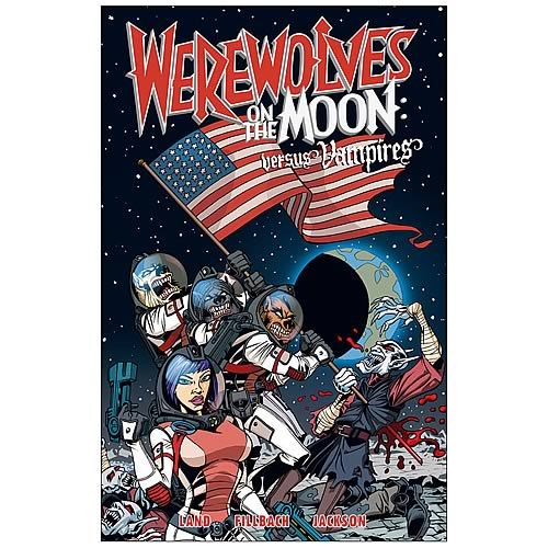 Werewolves on the Moon: Versus Vampires Graphic Novel