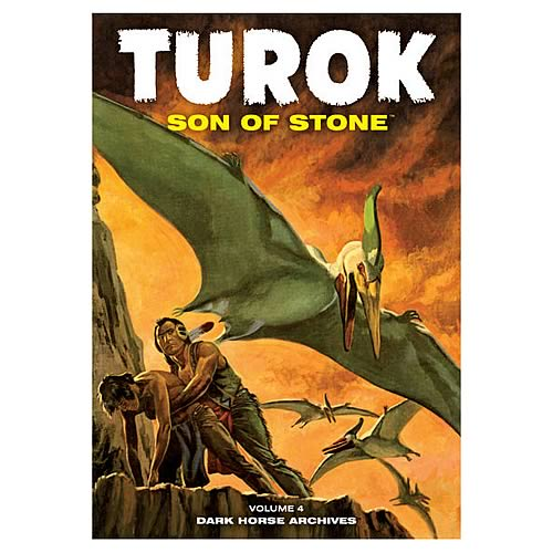 Turok Son of Stone Archives Volume 4 Hardcover Graphic Novel