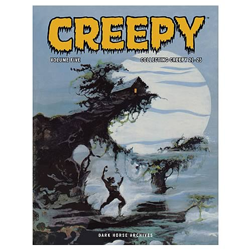 Creepy Archives Volume 5 Hardcover Graphic Novel