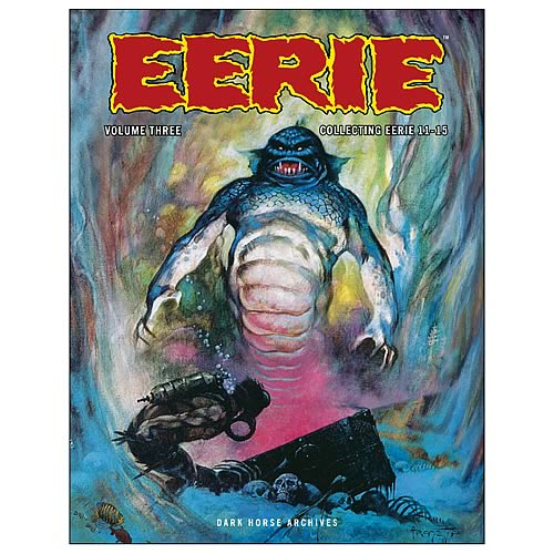 Eerie Archives Volume 3 Hardcover Graphic Novel
