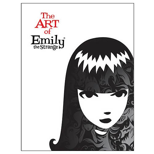 The Art of Emily the Strange Hardcover Book
