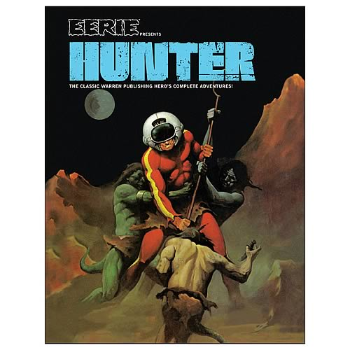 Eerie Presents Hunter Hardcover Graphic Novel
