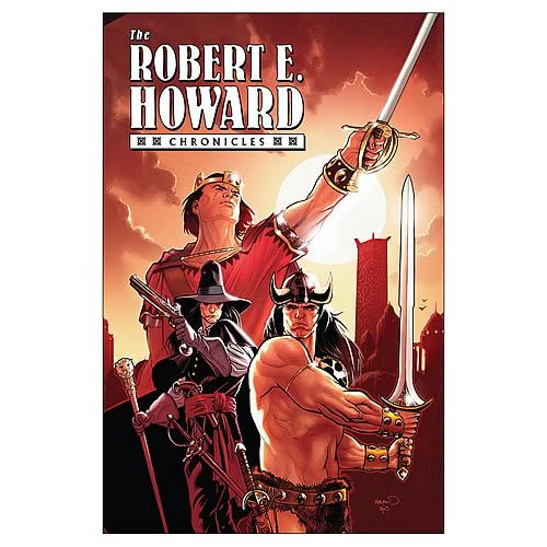 Robert E. Howard Chronicles Hardcover Graphic Novel